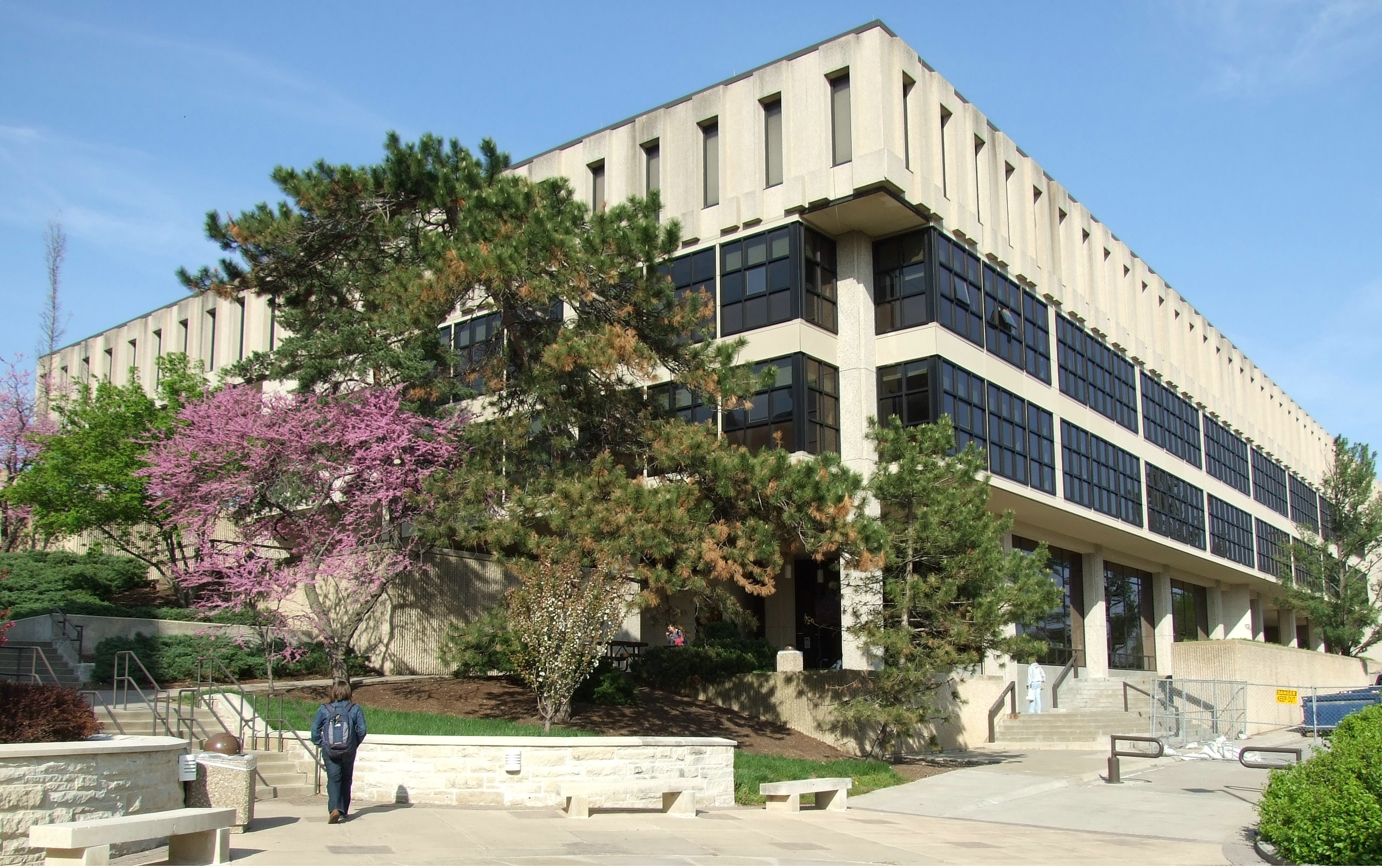 Wescoe Hall - home of the History Department